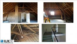 Weiterlesen: Aufmaß Dachgeschoß für Ausbau, Aufmaß - Rhino Datei zum PaletteCad Modell