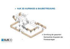 3D-Aufbau Beispiel: Fensteranlage (HJK 3D - Aufmaß und Baubetreuung)