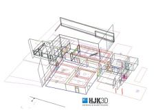 3D-Aufbau Beispiel: Hotel Eifelbräu (HJK 3D - Aufmaß und Baubetreuung)