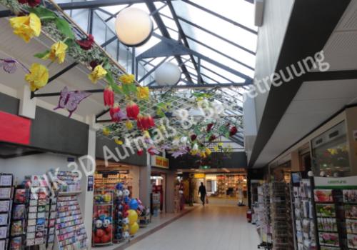 3D-Aufbau Beispiele: Einkaufspassage